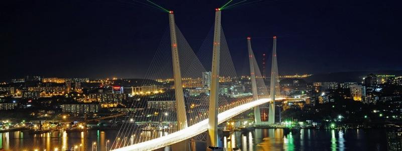 Bridge across the Golden Horn Bay